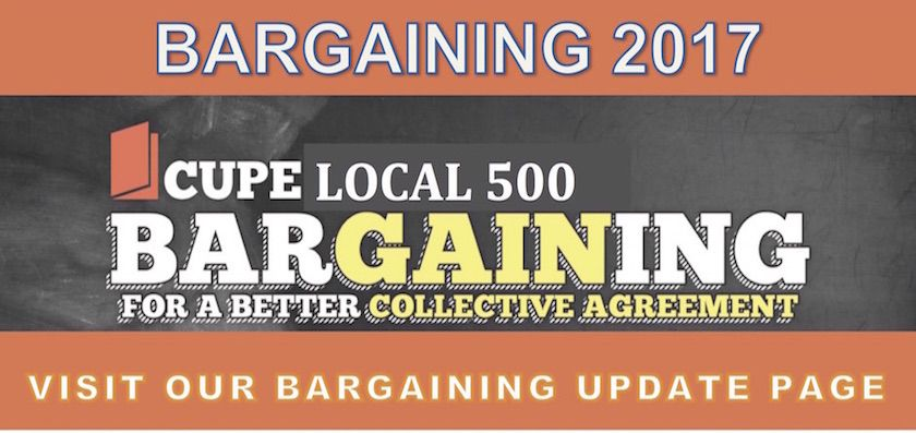 Local 500/City of Winnipeg Negotiations